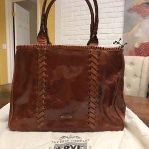 Frye Shopper Leather Tote